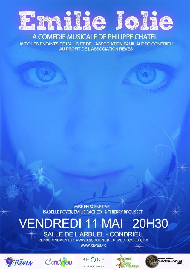 FBMediaworks Affiche Emilie Jolie