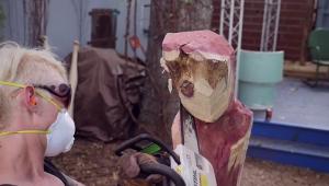 Le GROOT sculpture bois