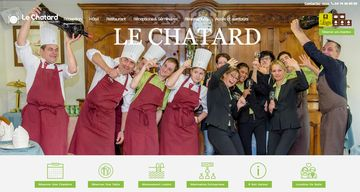 Image screen Hotel le chatard fbmediaworks creation site internet Lyon